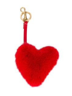 подвеска на сумку в виде сердца Anya Hindmarch