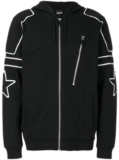 contrast trim zip hoodie  Just Cavalli