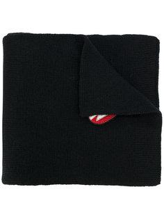 вязаный шарф с отделкой  Saint Laurent
