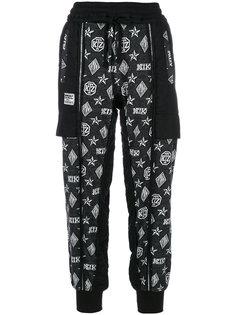 брюки с принтом логотипа KTZ