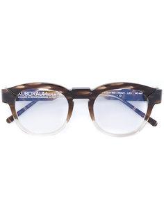 очки в круглой оправе с эффектом градиент Kuboraum