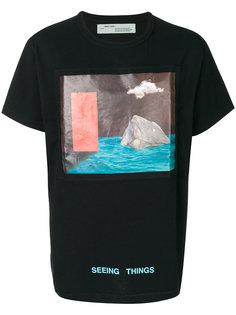 футболка с рисунком Off-White