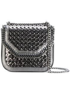 мини-сумка через плечо плетеного дизайна Falabella Stella McCartney