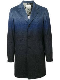 однобортное пальто с эффектом деграде Etro