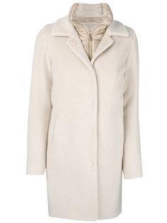 дутое многослойное пальто  Herno