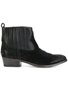 suede cowboy style boots Golden Goose Deluxe Brand