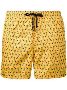 плавательные шорты с принтом буревестников Fefè