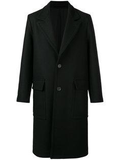 классическое длинное пальто  Ami Alexandre Mattiussi