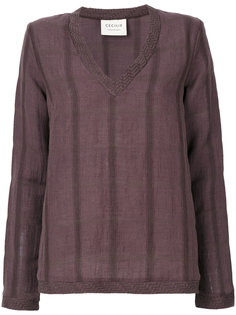 рубашка с V-образным вырезом Cecilie Copenhagen