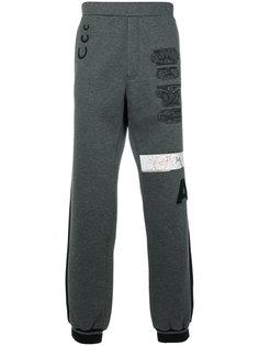 спортивные брюки с принтом Versace