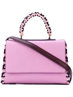 сумка с плетеной окантовкой Emilio Pucci