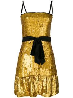 коктейльное платье с пайетками  Dolce & Gabbana Vintage