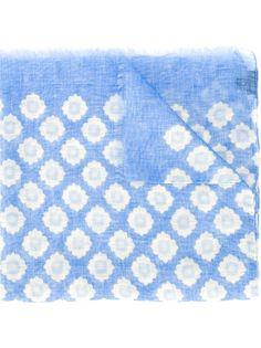 шарф с цветочным принтом  Fashion Clinic Timeless