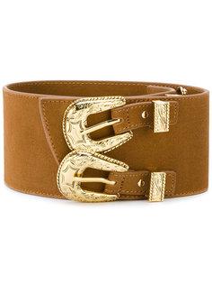 ремень с двойной пряжкой в ковбойском стиле B-Low The Belt