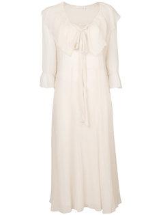платье с бантом спереди See By Chloé