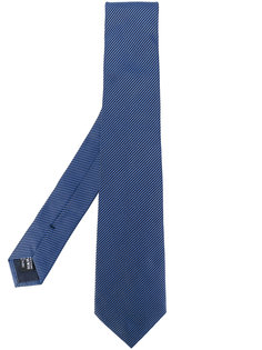 плетеный галстук в полоску Giorgio Armani
