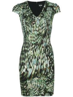 платье с рисунком Just Cavalli