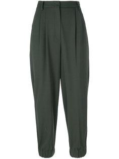 укороченные брюки со складками  Antonio Marras