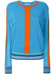 свитер с полосками  Diane Von Furstenberg