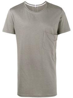 удлиненная футболка с карманом Lot78