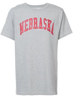 футболка с принтом nebraska Off-White
