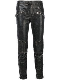 брюки с потертой отделкой Red Valentino
