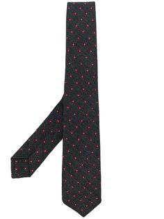 галстук с принтом Kiton