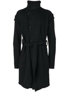 однобортное пальто с необработанным краем  Lost & Found Ria Dunn