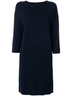трикотажное платье с рукавами три четверти Roberto Collina