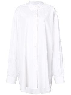 объемное платье-рубашка Maison Margiela