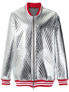 стеганая куртка-бомбер À La Garçonne