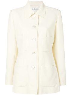 куртка с накладными карманами Yves Saint Laurent Vintage