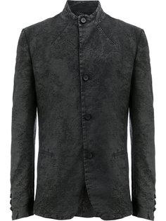 пиджак узкого кроя с воротником-стойкой Masnada