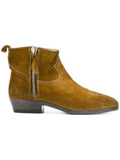 ботинки с декоративной строчкой  Golden Goose Deluxe Brand