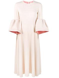 платье Turlin с рукавами-колокол Roksanda