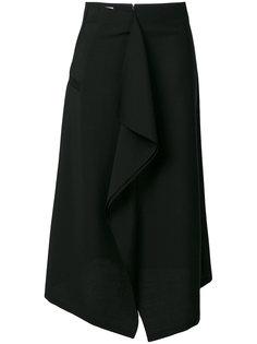 юбка с драпировкой  Jil Sander