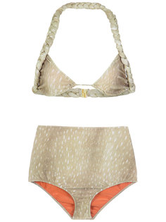 velvet hot pants bikini set Adriana Degreas