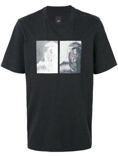 футболка с принтом Tupac Oamc