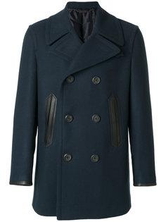 двубортное пальто Salvatore Ferragamo
