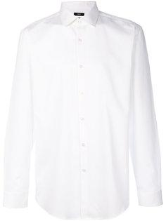 поплиновая рубашка Boss Hugo Boss
