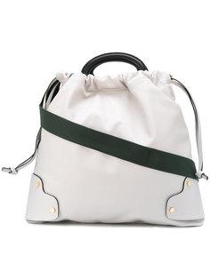 сумка с кольцевидными ручками Marni