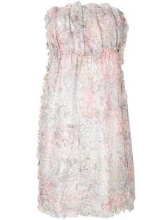 платье с цветочным принтом  Chanel Vintage