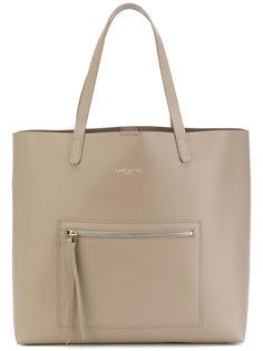 большая сумка-тоут с карманом на молнии Lancaster