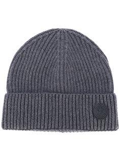 шапка-бини с фирменной нашивкой Dsquared2