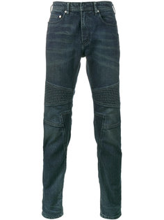 байкерские джинсы скинни Neil Barrett