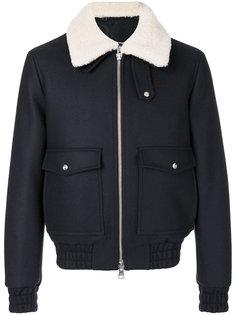 куртка на молнии с карманами с клапанами  Ami Alexandre Mattiussi