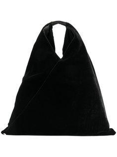 бархатная сумка-мешок Mm6 Maison Margiela