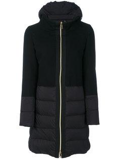 пальто со вставками  Herno