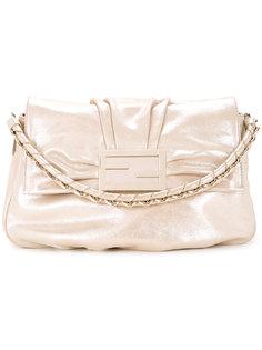 сумка на плечо с цепочкой Logos Fendi Vintage