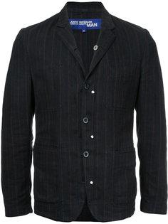 джинсовая куртка в полоску Comme Des Garçons Vintage